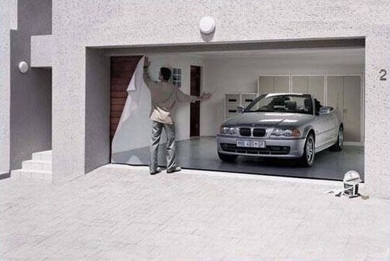 Garage Door Cover