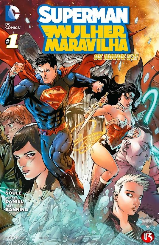 Superman & Mulher Maravilha