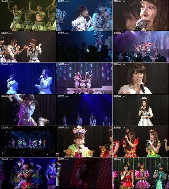 """(LIVE)(公演) NMB48 チームN """"ここにだって天使はいる"""" 公演 150330"""