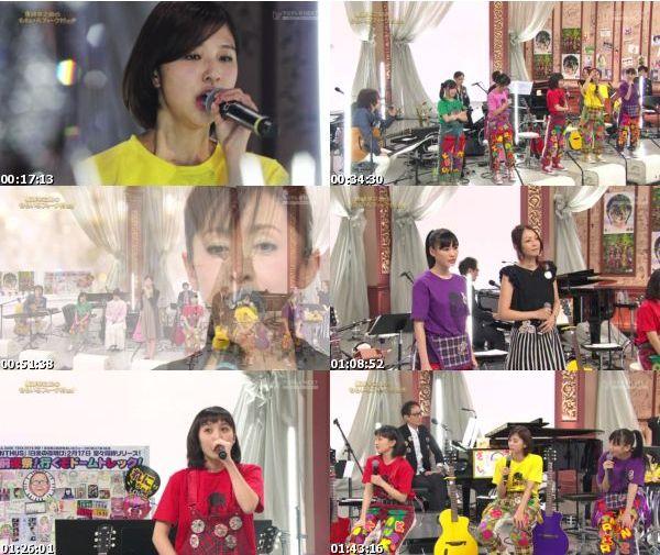 [TV-Variety] ももいろクローバーZ – 坂崎幸之助のももいろフォーク村NEXT 第56夜 (FujiTV Next 2015.02.11)