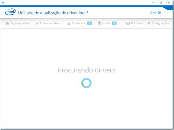 Procurando drivers automaticamente
