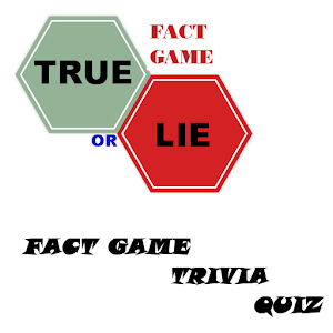 True or lie fact game trivia for Android