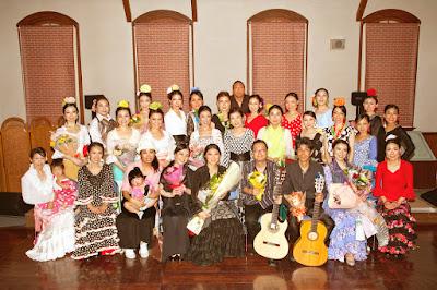 2015/06/21 第2回 ラ・アレグリア フラメンコ教室 発表会