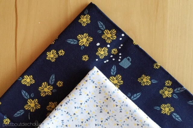Japanese style adjustable book cover - korean cotton fabric