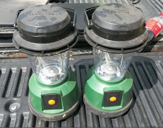 Ozark Trail LED lanterns
