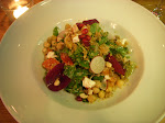 Istanbul - Lovely dinner at the House Cafe followed by a delicious salad with quinoa, walnuts and more! YUM!