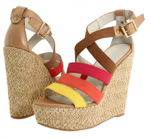 New Women's Hot Casual Boho Ankle Strapped Platform Wedges Sandal Shoes