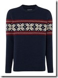 Hawick Halifax Fairisle crew neck jumper