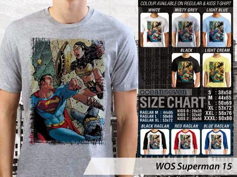 KAOS superman 15 Movie Series distro ocean seven