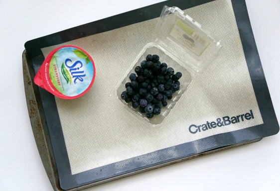 Dairy Free Yogurt Covered Blueberries - Healthy At Home Snack