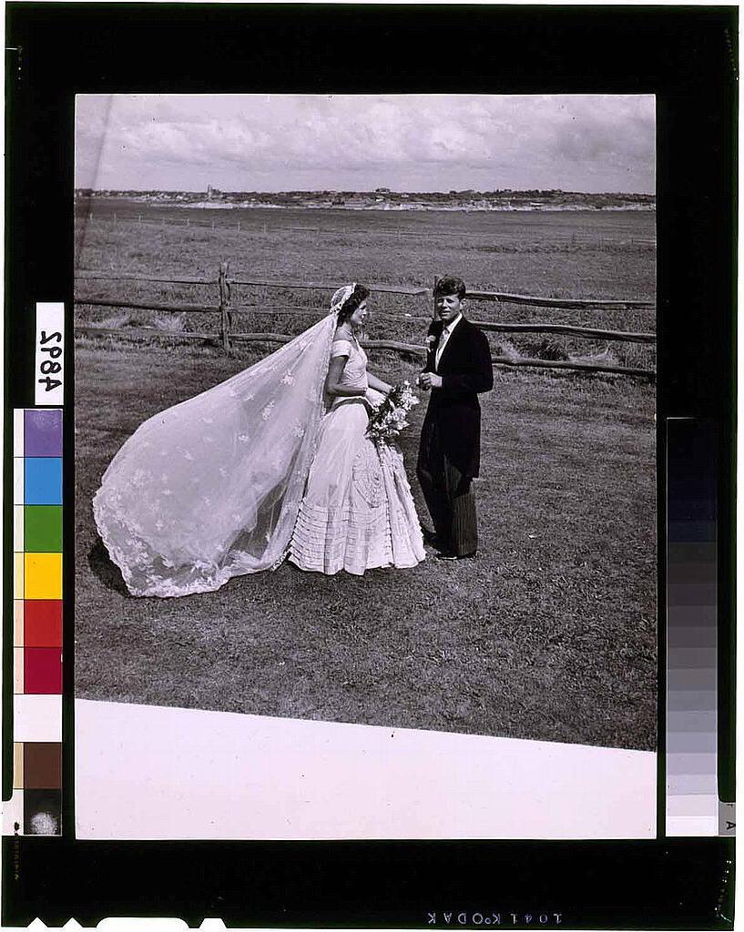 Kennedy wedding Sept 12 1954
