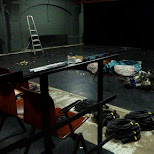 upstairs at Het Witte Theater where I used to practice for a stage play in IJmuiden, Noord Holland, Netherlands