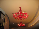 A chandelier in the lobby of the Marriot that we stayed at in New Orleans 07242012
