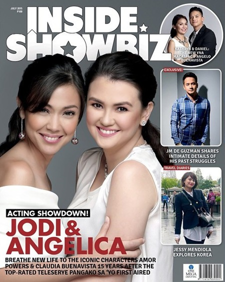 Jodi Sta. Maria and Angelica Panganiban - Inside Showbiz July 2015