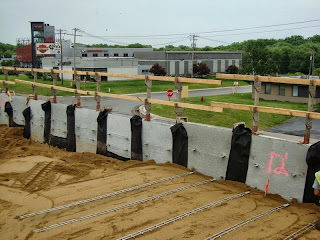 Reinforcing the MSE Wall at K