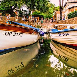 two boats by Eseker RI - Transportation Boats
