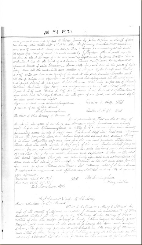 Lydia E. Hoff sold to William Cox Irwin 21 March 1878_0002