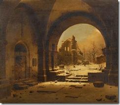 Carl Georg Adolph Hasenpflug Ruine des Klosters Heisterbach (1)