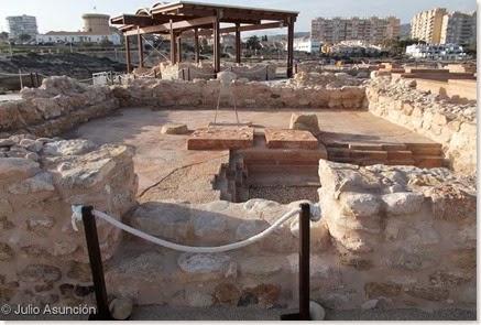 Illeta dels Banyets - Templo B
