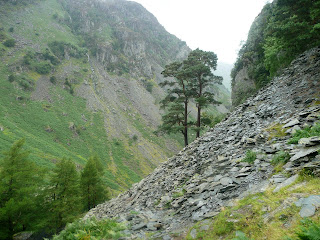 Ascending Castle Crag