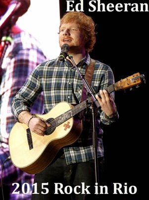 Rock In Rio USA - Week 2 - Day 1, held at MGM Resorts Festival Grounds<br /><br />Featuring: Ed Sheeran<br />Where: Las Vegas, Nevada, United States<br />When: 15 May 2015<br />Credit: Judy Eddy/WENN.com