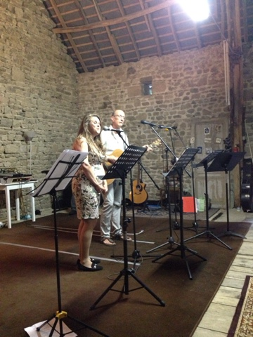 singing in public, singing holiday, group singing, choir, Limousin, Creuse
