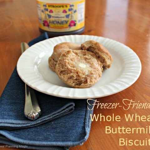 Whole Wheat Buttermilk Freezer Biscuits
