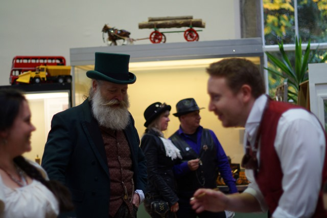 The League of Essextraordinary Gentlemen Steampunk event Essex at Museum of Power