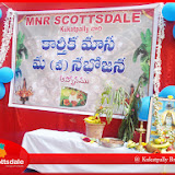 Vanabhojanam Celebrations at Kukatpally Branch