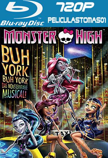 Monster High: Monstruo York (2015) BDRip m720p