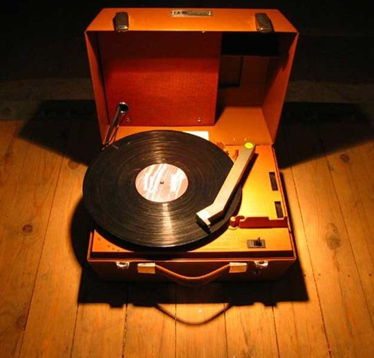 record player for the blind