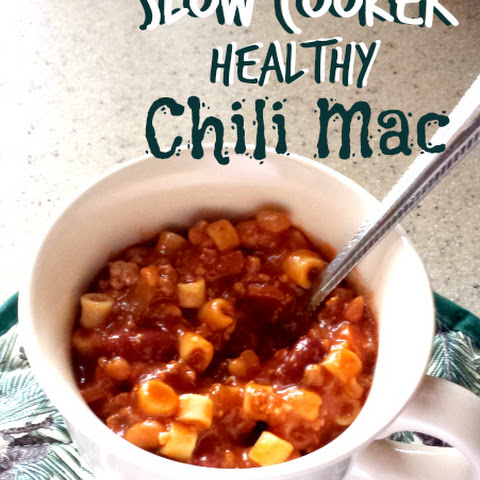 Slow Cooker Healthy Chili Mac
