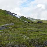 Huisjes in de bergen.