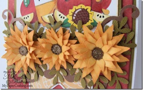 sunflowers apples n honey cu-475