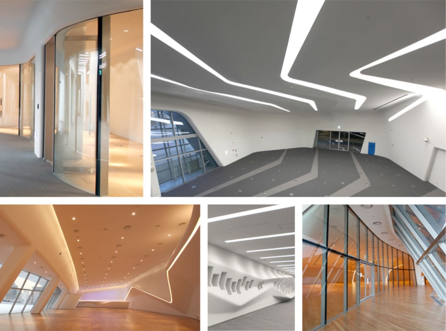 Open Dongdaemun Design Park Plaza by Zaha Hadid
