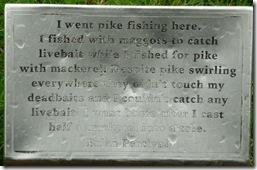 4 pike plaque