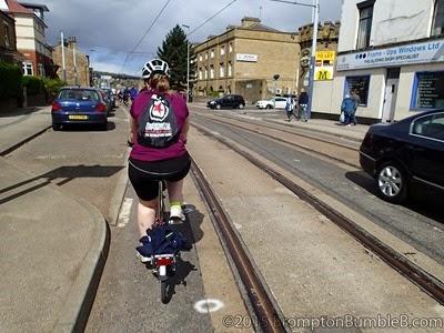 Brompton near Tram tracks