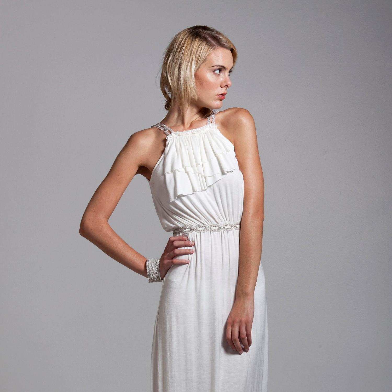 Goddess Ruffle wedding dress. From Th3rdPalac3