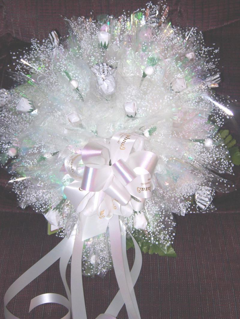 candy bouquet centerpieces for