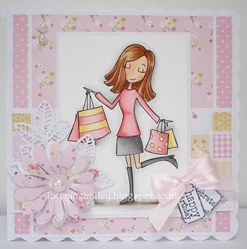 Lorraine B. - shopping