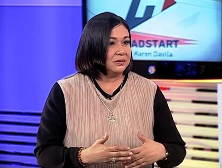 Alma Moreno on Headstart with Karen Davila