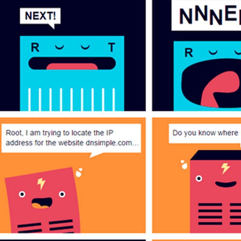 Cómo funciona el DNS, explicado en una historieta