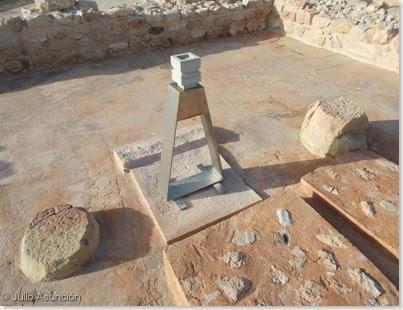 Illeta dels Banyets - Altar del templo B