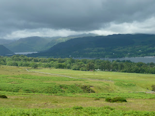 We could not believe how lucky we were. Across the Lake District it was prolonged heavy rain.