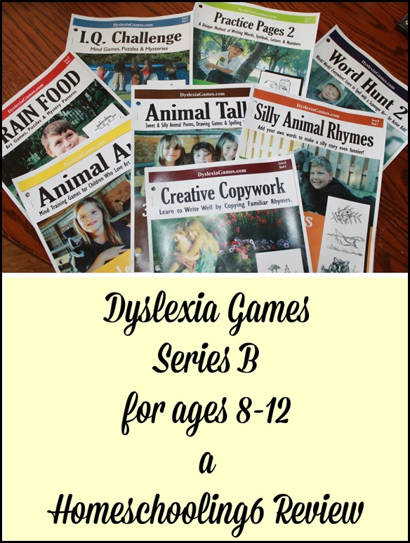 Dyslexia Games a Homeschooling6 Review