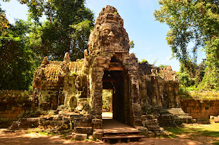 Brama do Banteay Kdei.