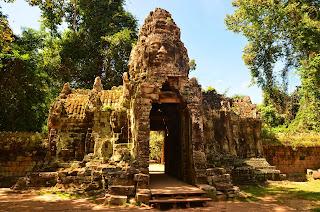 Brama do Banteay Kdei.