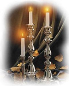 velas de shabat