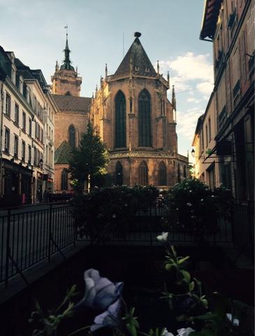A Igreja de Saint-Martin, um exemplo da arquitetura gótica
