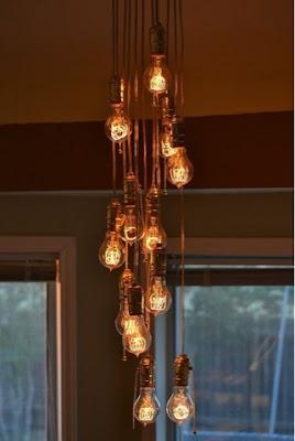luminária bulbo